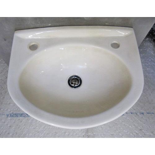 【中古】手洗い器 幅410×奥行340×高さ180 【送料別途見積】【業務用】
