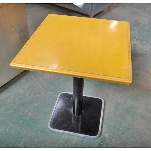 【中古】テーブル 幅600×奥行650×高さ700 【送料別途見積】【業務用】
