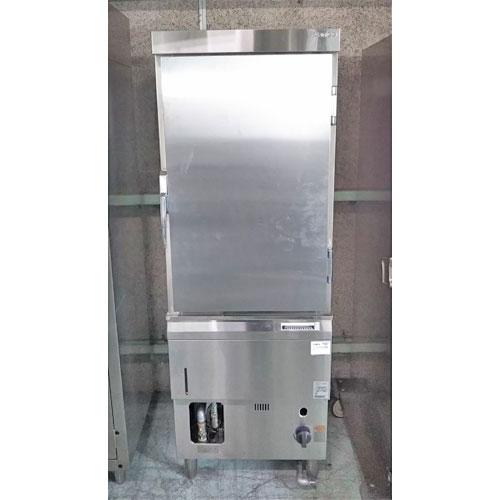 【中古】ガス蒸し器 タニコー TGMH-60 幅600×奥行600×高さ1760 LPG(プロパンガス) 【送料無料】【業務用】