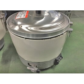 【中古】ガス炊飯器 リンナイ RR-30S1-F 幅450×奥行421×高さ408 都市ガス 【送料別途見積】【業務用】
