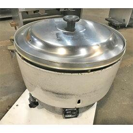 【中古】ガス炊飯器 リンナイ RR-50S1-F 幅525×奥行481×高さ447 LPG(プロパンガス) 【送料無料】【業務用】