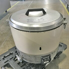 【中古】ガス炊飯器 リンナイ RR-30S1 幅470×奥行430×高さ410 都市ガス 【送料別途見積】【業務用】