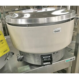 【中古】炊飯器 リンナイ RR-40S1 幅525×奥行481×高さ408 都市ガス 【送料別途見積】【業務用】
