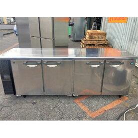 【中古】冷蔵コールドテーブル ホシザキ RT-210PNE1 幅2100×奥行600×高さ800 【送料別途見積】【業務用】
