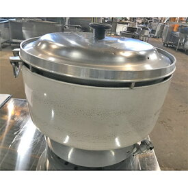 【中古】5升用ガス炊飯器 リンナイ RR-50S1-F 幅525×奥行481×高さ447 LPG(プロパンガス) 【送料無料】【業務用】