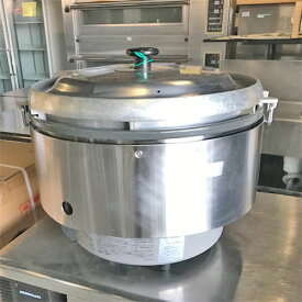 【中古】ガス炊飯器 リンナイ RR-50S2 幅543×奥行506×高さ442 LPG(プロパンガス) 【送料別途見積】【業務用】