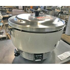 【中古】ガス炊飯器 リンナイ RR-40S1 幅525×奥行481×高さ421 都市ガス 【送料別途見積】【業務用】
