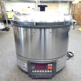 【中古】ガス炊飯器 リンナイ RR-30G1 幅466×奥行430×高さ460 LPG(プロパンガス) 【送料別途見積】【業務用】