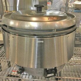 【中古】ガス炊飯器 5升 リンナイ RR-50S2 幅543×奥行506×高さ442 LPG(プロパンガス) 【送料無料】【業務用】