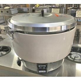 【中古】ガス炊飯器 リンナイ RR-50S1 幅525×奥行481×高さ434 都市ガス 【送料別途見積】【業務用】