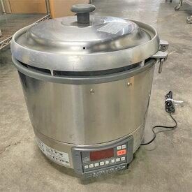 【中古】ガス炊飯器 リンナイ RR-30G1 幅466×奥行439×高さ460 都市ガス 【送料別途見積】【業務用】