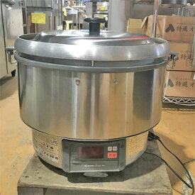 【中古】ガス炊飯器 リンナイ RR-50G1 幅543×奥行460×高さ500 LPG(プロパンガス) 【送料別途見積】【業務用】