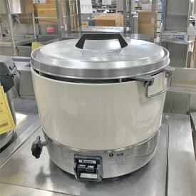 【中古】ガス炊飯器 3升 リンナイ RR-30S1 幅450×奥行421×高さ425 LPG(プロパンガス) 【送料別途見積】【業務用】