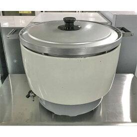 【中古】ガス炊飯器 5.5升 パロマ PR-10DSS-1 幅449×奥行573×高さ470 LPG(プロパンガス) 【送料無料】【業務用】