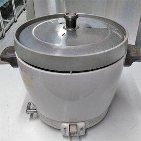 【中古】ガス炊飯器 リンナイ RR-20SF 幅431×奥行335×高さ348 LPG(プロパンガス) 【送料別途見積】【業務用】