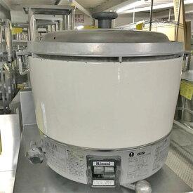 【中古】ガス炊飯器 リンナイ RR-30S1 幅450×奥行420×高さ425 都市ガス 【送料別途見積】【業務用】