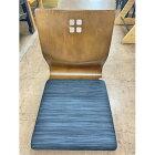【中古】座椅子(黒) 幅390×奥行500×高さ445 【送料無料】【業務用】
