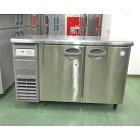 【中古】冷蔵コールドテーブル フクシマガリレイ(福島工業) YRC-120RE2 幅1200×奥行600×高さ800 【送料別途見積】【業務用】