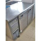 【中古】冷凍冷蔵コールドテーブル フクシマガリレイ(福島工業) YRC-121PM1 幅1200×奥行600×高さ800 【送料別途見積】【業務用】