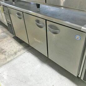 【中古】冷凍コールドテーブル フクシマガリレイ(福島工業) YRW-183FM2 幅1800×奥行750×高さ800 【送料別途見積】【業務用】