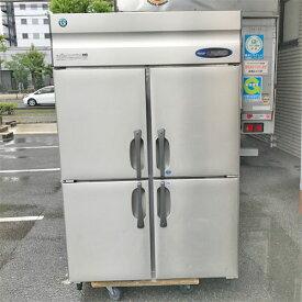 【中古】縦型冷凍冷蔵庫 ホシザキ HRF-120FT 幅1200×奥行650×高さ1890 三相200V 【送料別途見積】【業務用】