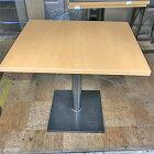 【中古】洋風テーブル 幅750×奥行600×高さ700 【送料無料】【業務用】