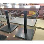 【中古】2人掛けテーブル 幅600×奥行650×高さ720 【送料無料】【業務用】