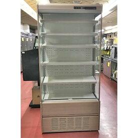 【中古】冷蔵多段オープンショーケース 5段 サンデン RSD-S3TFZ5J-B 幅890×奥行600×高さ1900 【送料別途見積】【業務用】