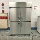 【中古】4ドア冷凍冷蔵庫 大和 423YS1-EC 幅1200×奥行650×高さ1900 三相200V 【送料別途見積】【業務用】