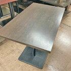 【中古】4人掛けテーブル 幅1000×奥行600×高さ710 【送料無料】【業務用】