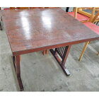 【中古】和風テーブル茶 幅800×奥行750×高さ700 【送料無料】【業務用】