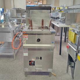 【中古】ゆで麺機 マルゼン MRY-C04 幅450×奥行600×高さ800 LPG(プロパンガス) 【送料別途見積】【業務用】