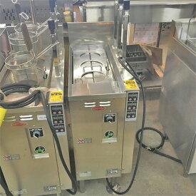 【中古】自動電気ゆで麺機 日本洗浄機 UMR-371E 幅330×奥行645×高さ600 三相200V 【送料無料】【業務用】