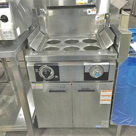 【中古】ゆで麺機(冷凍?対応) タニコー THU-60 幅600×奥行600×高さ800 都市ガス 【送料別途見積】【業務用】