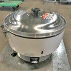【中古】ガス炊飯器 リンナイ RR-40S1 幅525×奥行481×高さ421 LPG(プロパンガス) 【送料無料】【業務用】