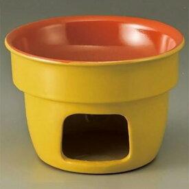 チーズフォンデュ バーニャカウダー用セットYE15cmソースウォーマー14.8×10cm・300cc/業務用/新品/小物送料対象商品