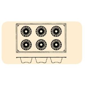 FOR MA FLEX FR046 ミニクグロフ 6ヶ取/業務用/新品 /テンポス