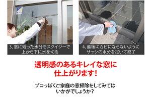 窓拭き送料無料シャンパー&スクイジーセット