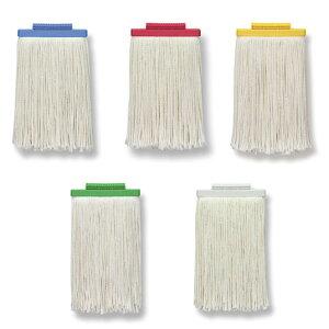 セイワ ヨリクロモップ替糸6寸(17cm) 業務用 1本 全5色 赤/青/黄/緑/白