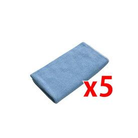 シーバイエス マイクロファイバークロス マイクロクイック ブルー 5枚