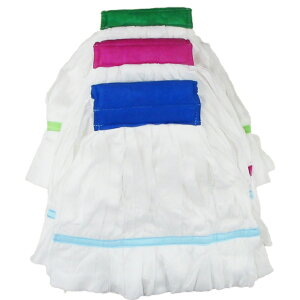 使い捨てモップ 1枚(グリーン・ピンク・ブルー) 使い捨て 床消毒 剥離 モップ 手軽