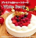 【本州送料無料】ホワイトベリー 約15cm 5号サイズ バースデーケーキ 誕生日ケーキ 本州送料無料 ショートケーキ 子供…