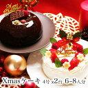 クリスマスケーキ 予約 本州 送料無料 2019デュエット Ver.2 4号x2台 6〜8人前誕生日ケーキ バースデーケーキ 生クリーム 苺 たっぷり ショートケーキ チョコ かわいい おしゃれ 贅沢 女性 子供宅配 配送日指定