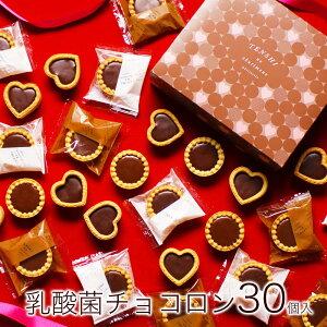 【送料無料】バレンタイン チョコ チョコレート 義理チョコ 2021 子供 本命 友チョコ 限定 プチギフト 詰め合わせ おしゃれ お取り寄せ 個包装 小分け 大人数 面白い 健康 高級【乳酸菌 チョ