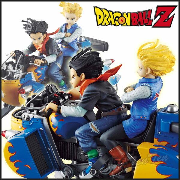 ドラゴンボールZ フィギュア DESKTOP REAL McCOY 04 人造人間17号&18号 【即納品】