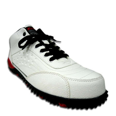 安全靴 安全スニーカー XEBEC ジーベック 85129 軽量 樹脂先芯 スタイリッシュ 安全機能満載 防滑 セーフティスニーカー 男女兼用 23.0〜29.0cm ホワイト 白