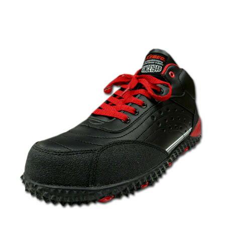 安全靴 安全スニーカー XEBEC ジーベック 85129 軽量 樹脂先芯 スタイリッシュ 防滑 セーフティスニーカー 男女兼用 23.0〜29.0cm ブラック 黒