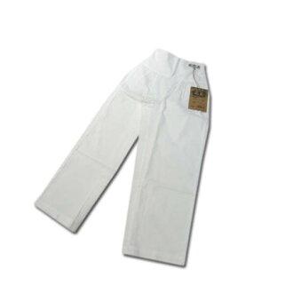 节日 ♪ 儿童 bosha,衣服裤子 Danjiri 太鼓节如裤博! 纯白色 130 厘米