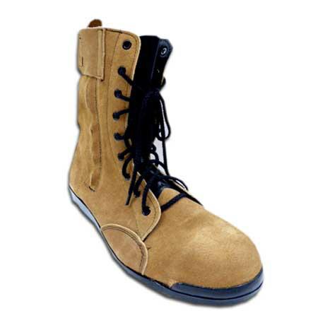 安全靴 半長靴 安全半長靴 みやじま鳶 Nosacks N4030 高所用 セーフティブーツ 宮島鳶 ノサックス 鉄製先芯 25〜28.0cm 琥珀色 茶系