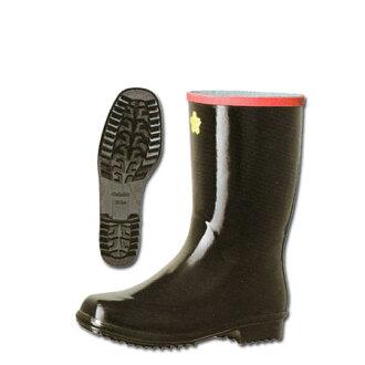 新消防队员钢套在底部,进圣诞长袜安全靴 23.5-28.0 厘米黑色长鞋 B0001ER 钢